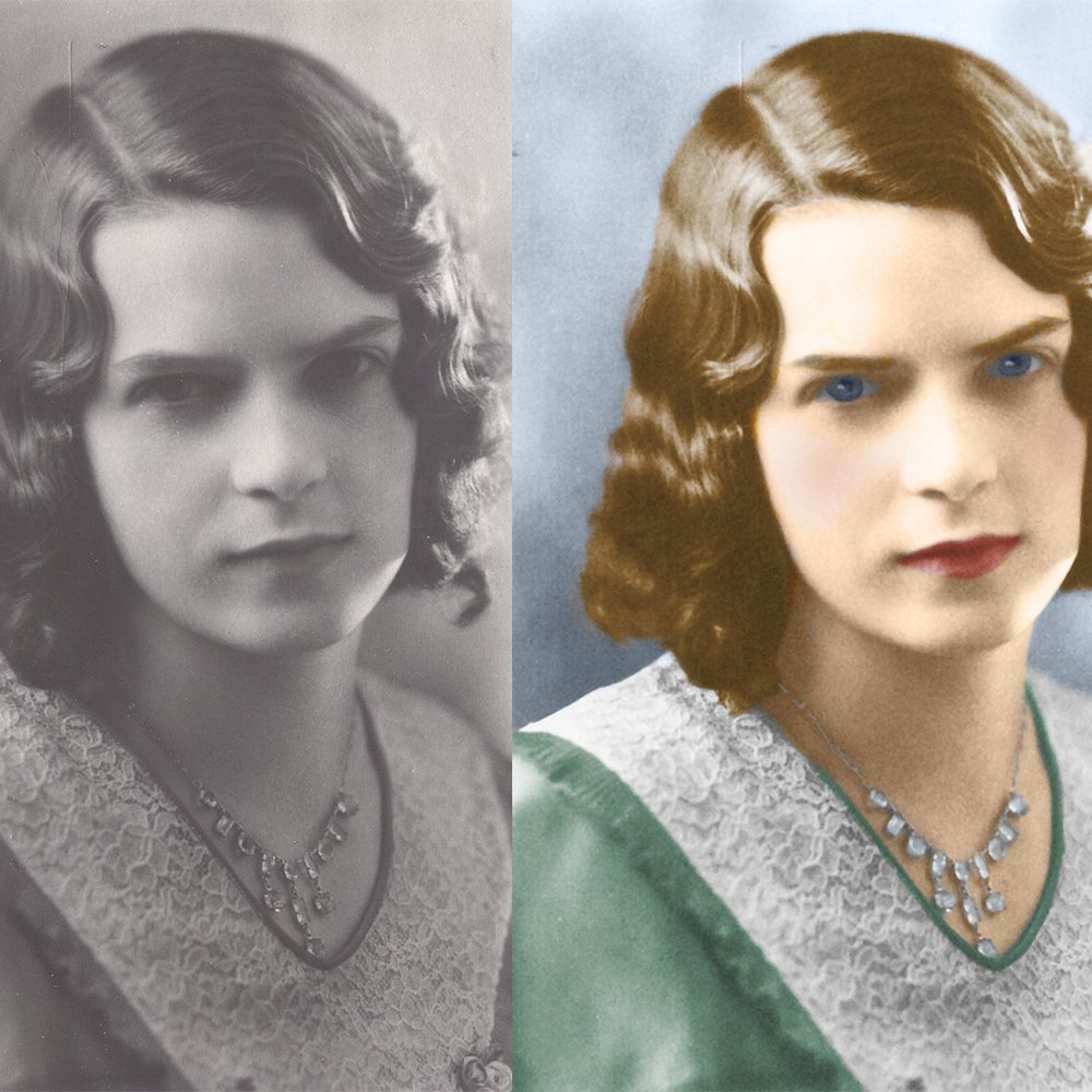 One subject colorization